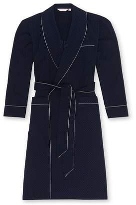 Royal 40 Navy Striped Cotton Robe