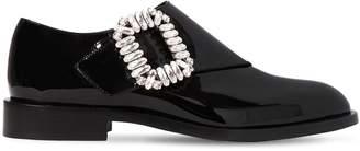 Roger Vivier 30mm Monk Strap Patent Leather Shoes
