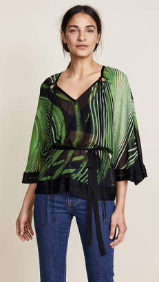 Roberto Cavalli Chihuly Knitted Blouse