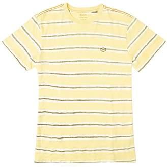 RVCA Men's Warped Stripe Vintage Wash T-Shirt