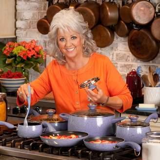 Paula Deen Signature Porcelain 15 Piece Non-Stick Cookware Set