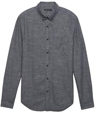 Banana Republic Grant Slim-Fit Chambray Shirt
