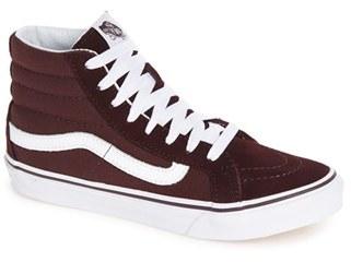 Women's Vans Sk8-Hi Slim High Top Sneaker $64.95 thestylecure.com