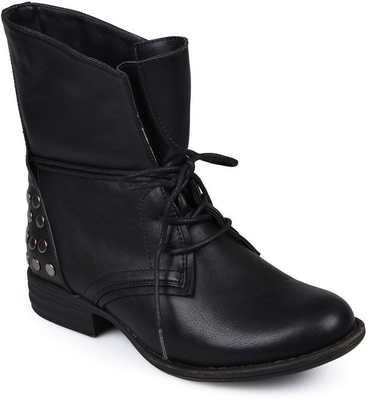 Journee Collection Trust Lace-Up Boots - Women