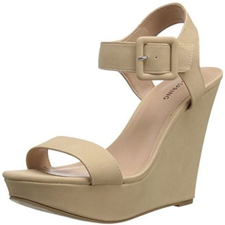 Call It Spring Women's PATZUN Wedge Sandal $39.99 thestylecure.com
