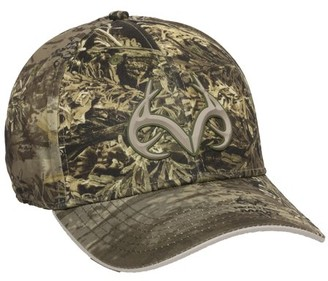 Realtree Max-1 XT Performance Stretch Fit Cap; Large / X-Large
