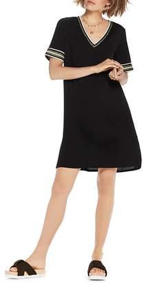 Scotch & Soda Short-Sleeve V-Neck Dress