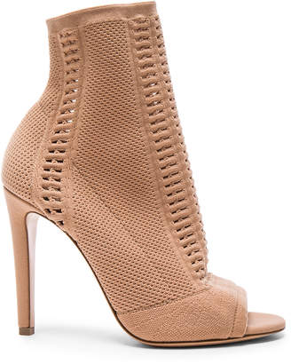 Gianvito Rossi Knit Vires Booties