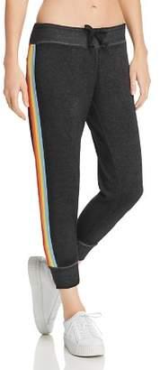 Vintage Havana Rainbow-Trim Sweatpants