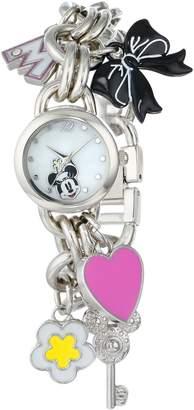 Disney Women's Minnie Mouse Dial Charm Watch MN2012
