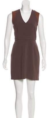 BB Dakota Sleeveless A-Line Mini Dress