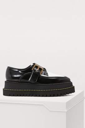 N°21 N 21 Derby buckle shoes