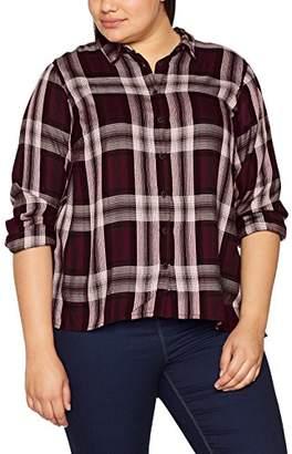 Zizzi Women's LS Shirt,(Manufacturer Size: Small)