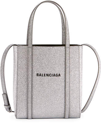 Balenciaga Everyday XXS Glittered Calfskin Tote Bag