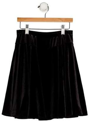 Florence Eiseman Girls' Velvet Circle Skirt