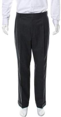 Burberry Pleated Wool Pants