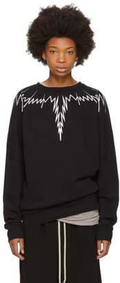 Marcelo Burlon County of Milan Black Erreish Sweatshirt