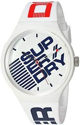 Superdry 'Urban XL Street' Quartz Plastic and Silicone Casual Watch