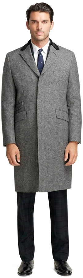 Brooks Brothers Winston Chesterfield Coat