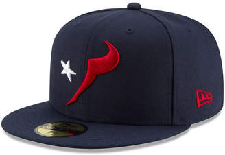 New Era Houston Texans Logo Elements Collection 59FIFTY Fitted Cap