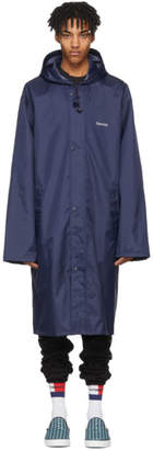 Vetements Navy Gemini Horoscope Raincoat