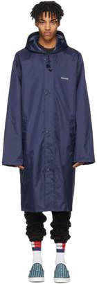 Vetements Navy Gemini Horoscope Raincoat