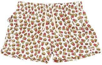 MC2 Saint Barth Fast Food Print Nylon Swim Shorts