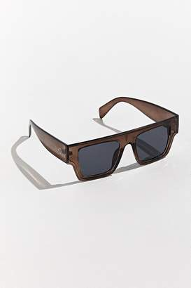 Urban Outfitters '80s Wide Temple Square Sunglasses