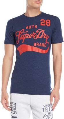 Superdry Navy Underline Graphic Tee