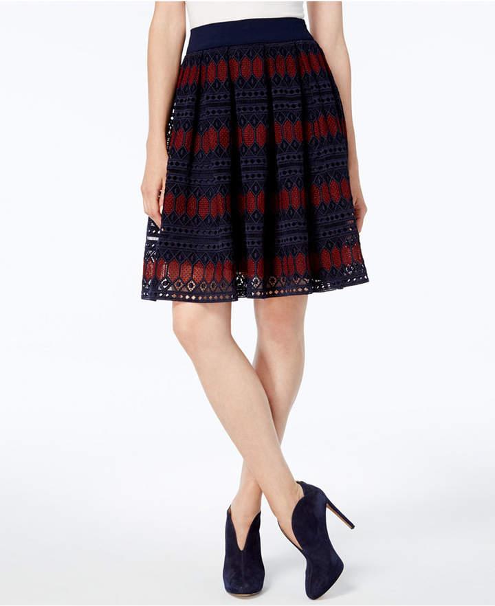 Trina Turk Leland Lace Skirt