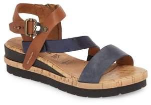 Tamaris Eda Diagonal Strap Wedge Sandal