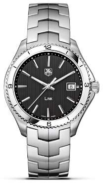 """Tag Heuer Link"""" Watch, 40mm"""