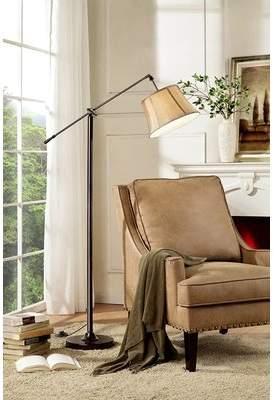 Red Barrel Studio Bryner 65 Swing Arm Floor Lamp