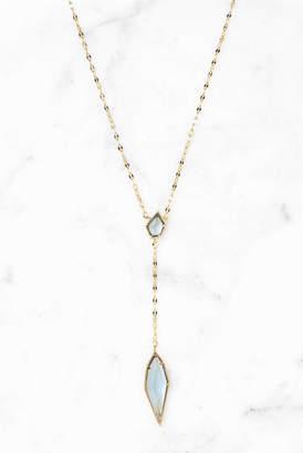 Tai Montana Glass Y Necklace