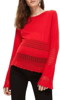 Topshop MATERNITY Stitched Sweater