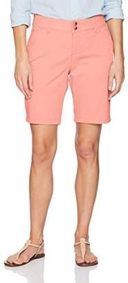 Lee Women's Straight Fit Tailored Chino Bermuda Short