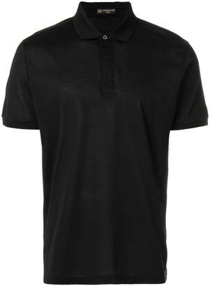 Corneliani slim fit polo shirt