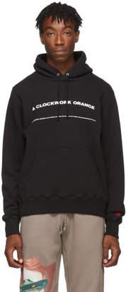 Undercover Black A Clockwork Orange Print Hoodie