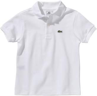 Lacoste Boys Polo 1/2 Sleeve Polo Shirt - White - Wei (001 ) - 11 years