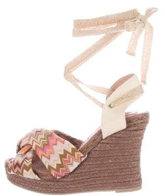 Missoni Chevron Espadrille Sandals