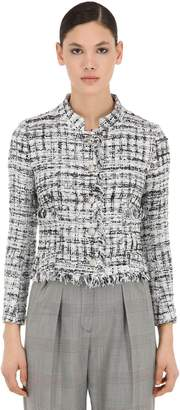 Tagliatore Lurex Tweed Jacket