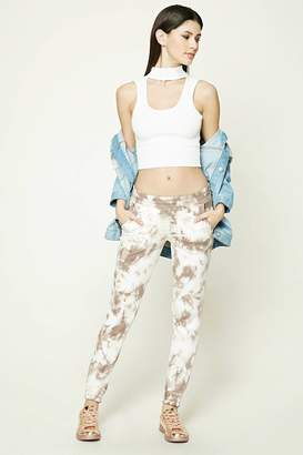Forever 21 Tie Dye French Terry Joggers