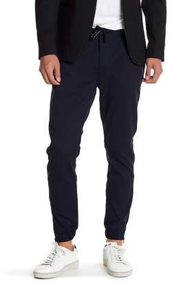 Ron Tomson Textured Drawstring Jogger Pants