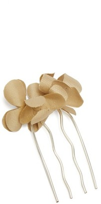 Philippa Craddock - Silk Faux Flower Hair Slide - Womens - White