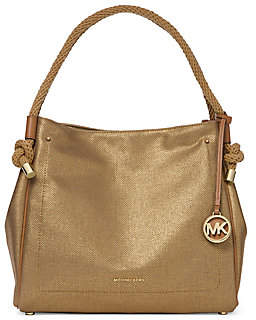 MICHAEL Michael Kors Women's Isla Large Textured Grab Bag