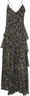 Shona Joy Floral Tiered Jarrett Maxi Dress