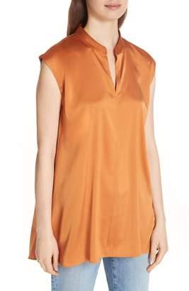 Eileen Fisher Stretch Silk Top
