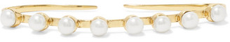 Cornelia Webb - Gold-plated Pearl Hand Piece - One size