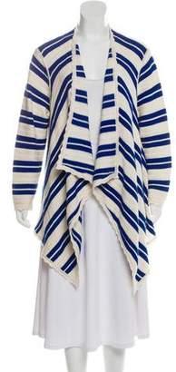 Yigal Azrouel Wool Stripe Cardigan