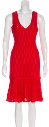 Herve Leger Sleeveless Evening Dress w/ Tags